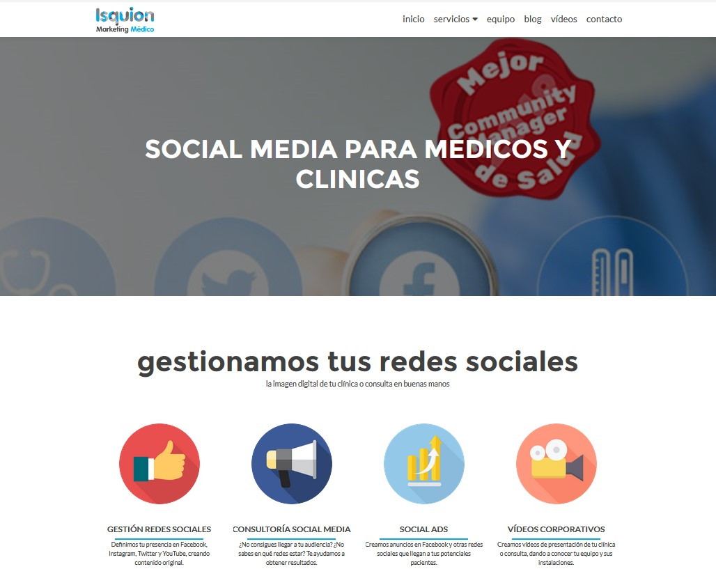 Isquion Marketing Médico